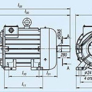 Электродвигатель MTH 311-6 — (H) 11 кВт