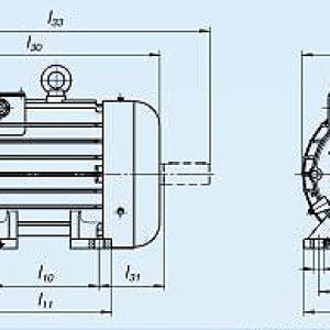 Электродвигатель MTKH 312-6 — (H) 15 кВт