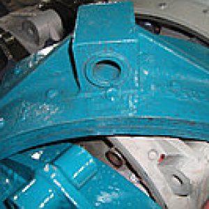 Тормозная колодка РДК-250 (главный/вспомподъем)